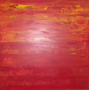 coucher de soleil,125x125,rouge,ornge,june