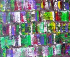 abstrait acrylique,acrylique + pigment,triplex 120x100